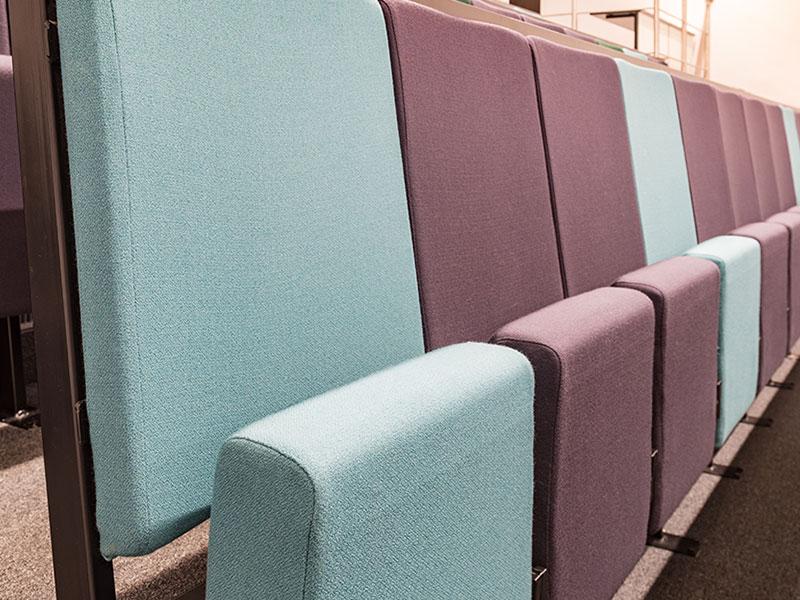 University seating education fabrics