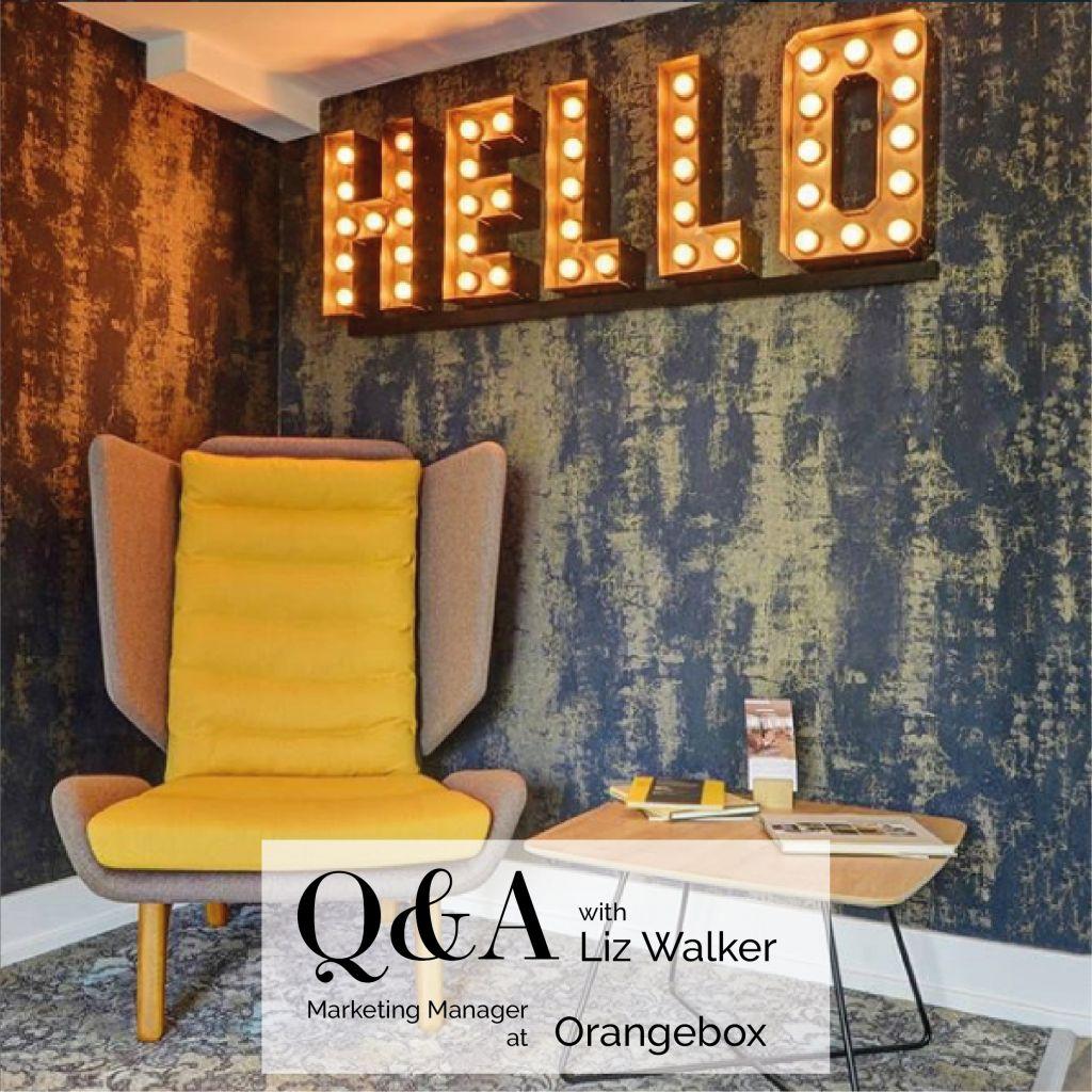 Abbotsford Q & A with Liz Walker from Orangebox